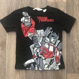 TRANSFORMERS H&M Boys T Shirt 2- 4 Years